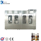 Turn Key Project Full Automatic Small Scale Beer Bottling Filling Packing Machine/Equipment Plant Line