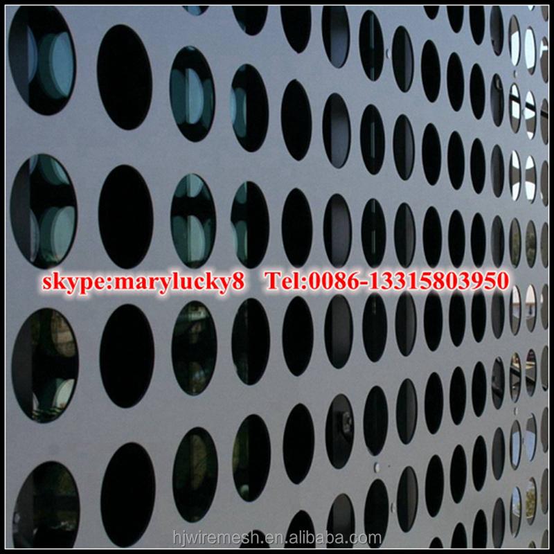 Decorativo metallo perforato pannello di parete alluminio - Pannello decorativo parete ...