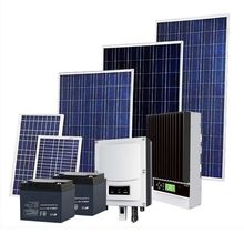 Home solar power system 2kw Complete off grid solar system include solar panel battries Inverter and controller