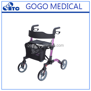 High Quality Shopping Rollator For Walking Aid Rollator Walker
