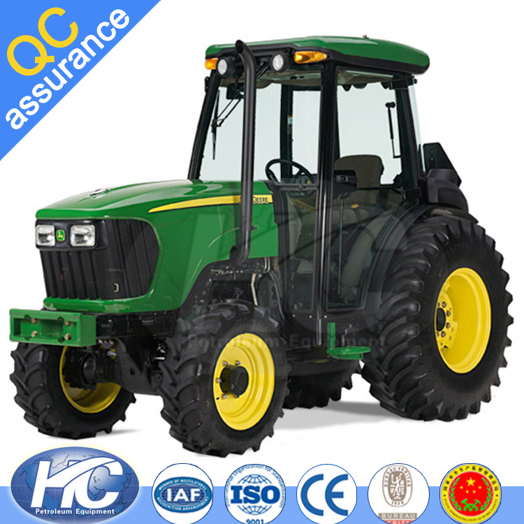 Factory price tractor machine / farming tractor with 100HP 4WD / farm tractor with cab from china