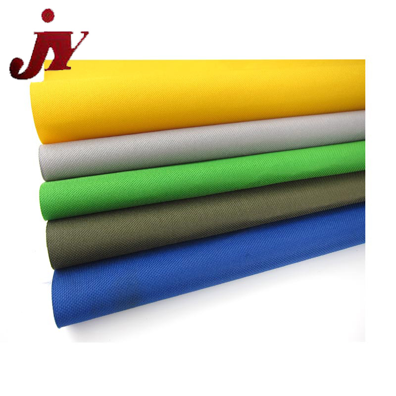 100% polyester 420D bag material oxford fabric pvc coated waterproof fabric