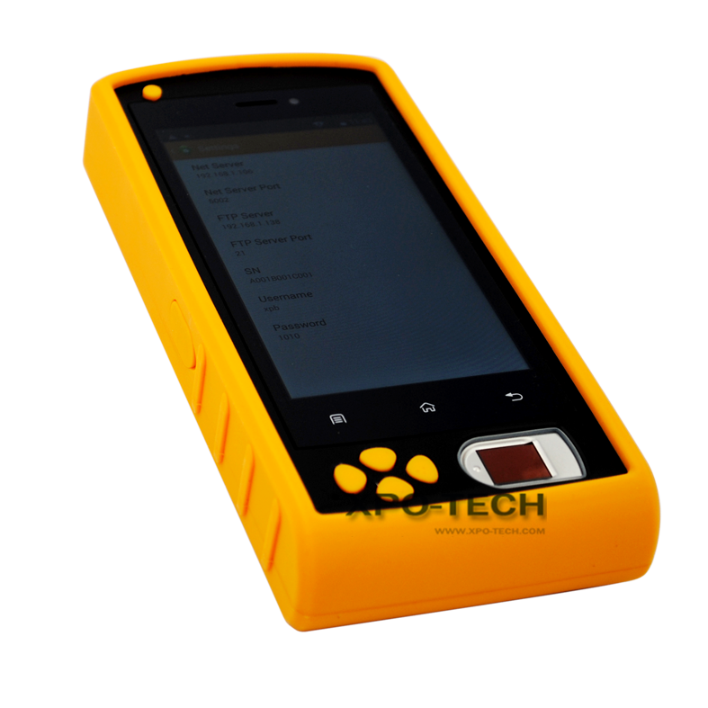 WIFI GPRS biometric handheld device