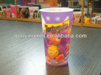 3D PP plastic promotion cup (walmart audited factory)