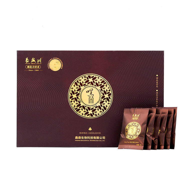 Changshengchuan Long-term storage under clean mini chin-brick tea