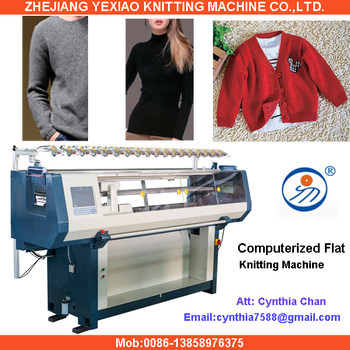 Manual Fully Jacquard Automatic Sweater Knitting Machine View