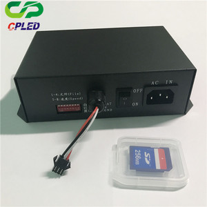 addressable led strip controller WS2801 WS2811 UCS1903 Strip Module 2048  pixels controller T-1000