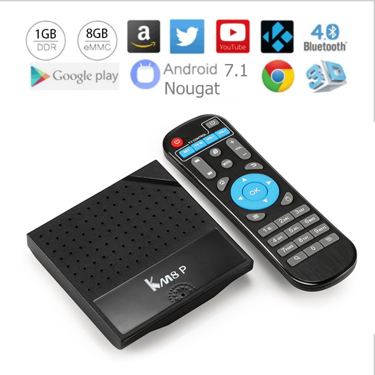 Hot km8p TV Box 2GB 16GB Amlogic S912 Octa-Core 2.4G/5GHz WiFi Smart Set Top Box USB 2.0 world TV box