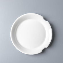Chaoda 7.25 inch Restaurant ronde plaat met <span class=keywords><strong>eetstokjes</strong></span> houder aardewerk plaat hotel <span class=keywords><strong>porselein</strong></span> levert fijne china diner sets