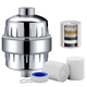 High Output Universal Shower Filter with Replaceable Multi-Stage Filter Cartridge