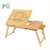 Bamboo Tilting Top Laptop Desk Serving  Breakfast Table  Bed Tray with Drawer