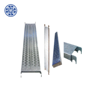 Hot sale Q195 pre galvanized steel catwalk for scaffolding system