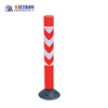 road reflective traffic delineator PU flexible spring post