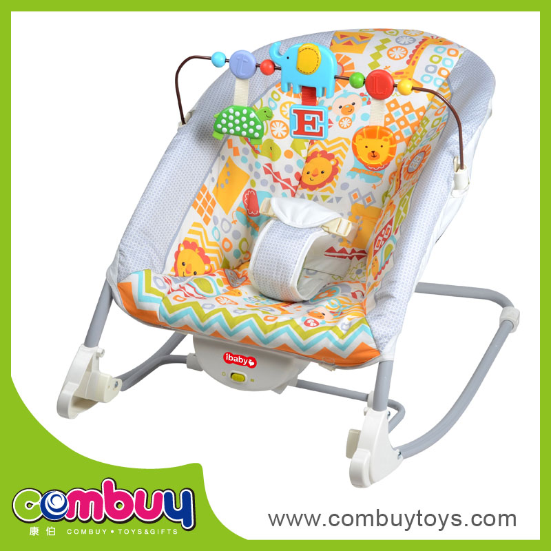 New baby plush rocking chair baby rocker, electric baby swing chair