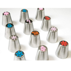Christmas style different shape cake tool cake decorating icing piping nozzles set