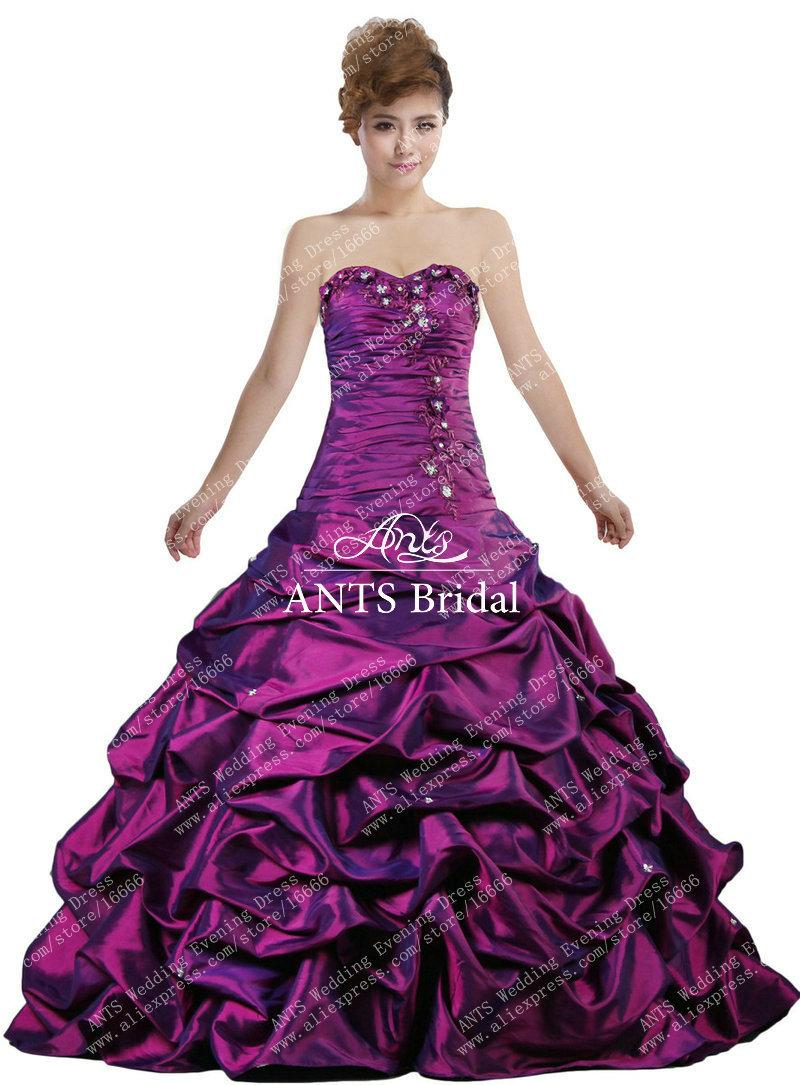Purple Princess Dress for Girls