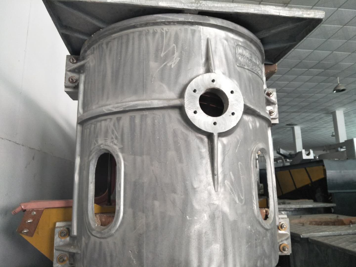 Thermal Induction Furnace for Melting Brass Bronze Iron Lead All Metal Chinese Factory