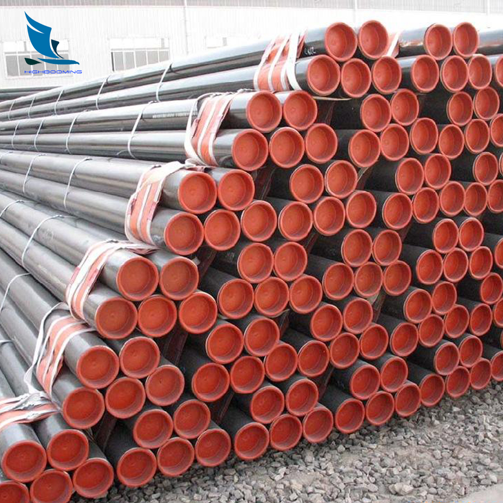 api 5l carbon steel seamless pipe 6 m length with cap on both ends made in china