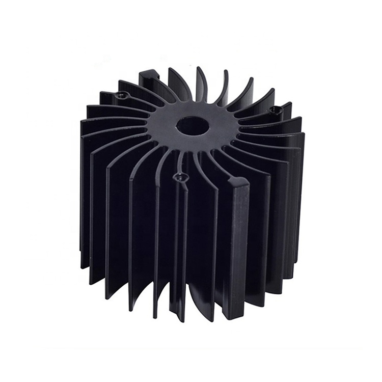 anodized cnc led aluminum heat sink profiles