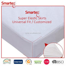 Good Bed Bug Cotton Polyester Terry Mattress Protector For Baby Cot Bed