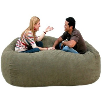 modern sofa large round beanbag sofa foam filling bean bag