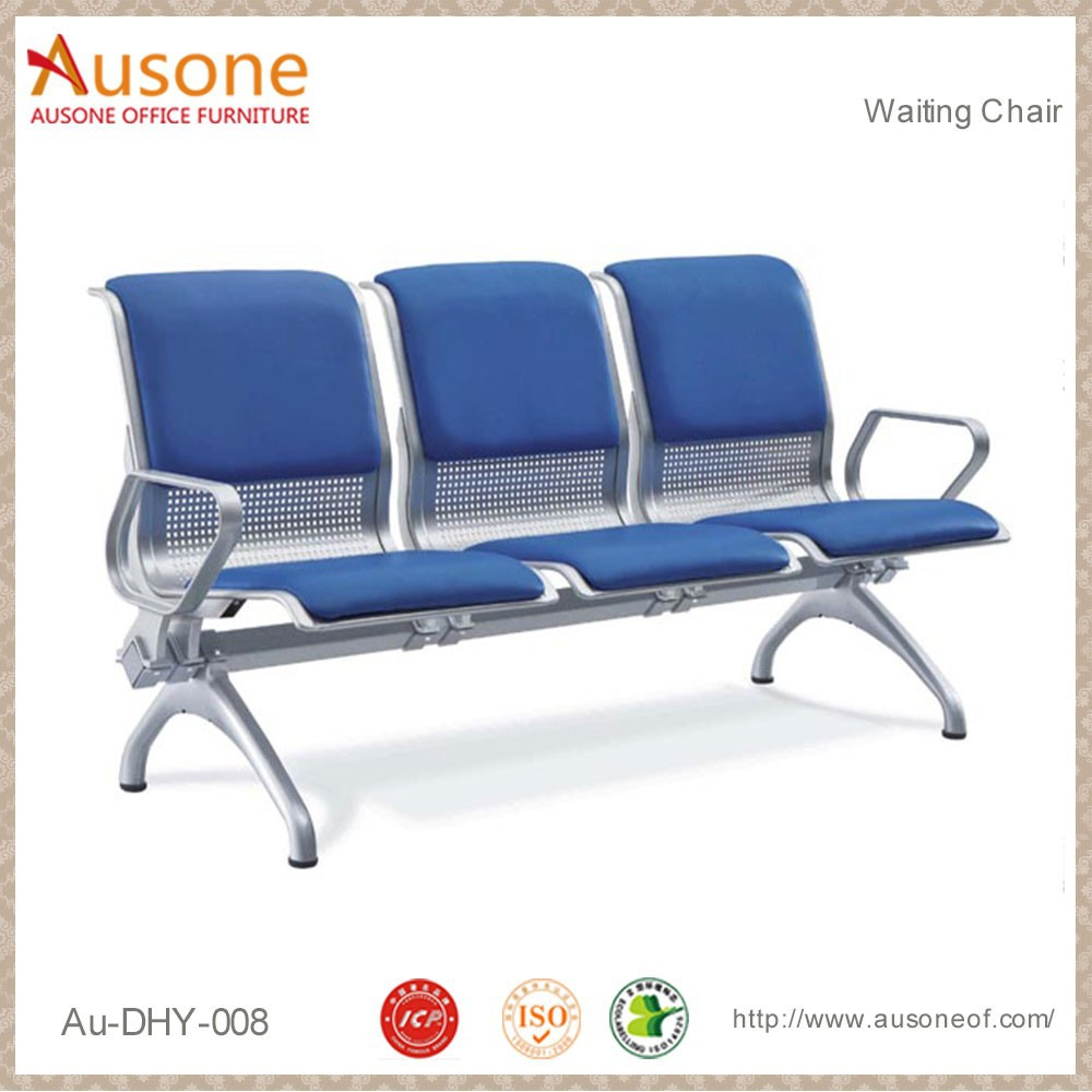 Cheap 3-seater price airport chair waiting chairs