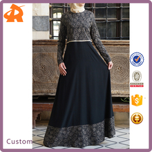 Chiffon Muslim Dress Latest Dubai Abaya Turkey Fashion For Women
