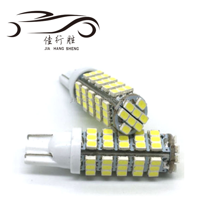 Super Bright T10 68 SMD 1206 LED 194 927 168 Car auto Side Wedge Lamp Bulb License plate lights 12V