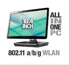 AVERATEC 18.4 All-In-One PC WLAN Windows 8