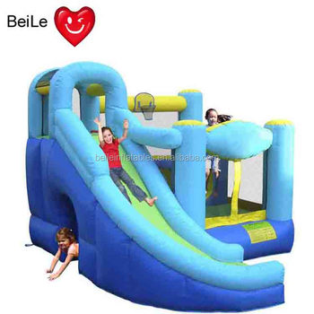 Outdoor giant inflatable water slide for child