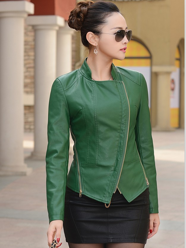 Detail Feedback Questions About Small Short Leather Jacket Women