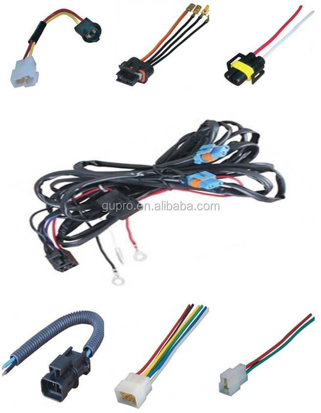 auto motorcycle wire harness parts cable assembly automotive wiring harness