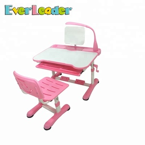 Everleader children kids study adjustable desk and chair furniture