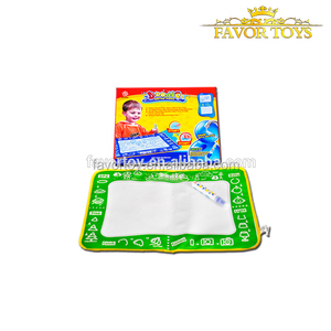 High quality material cute image water magic child block play mat