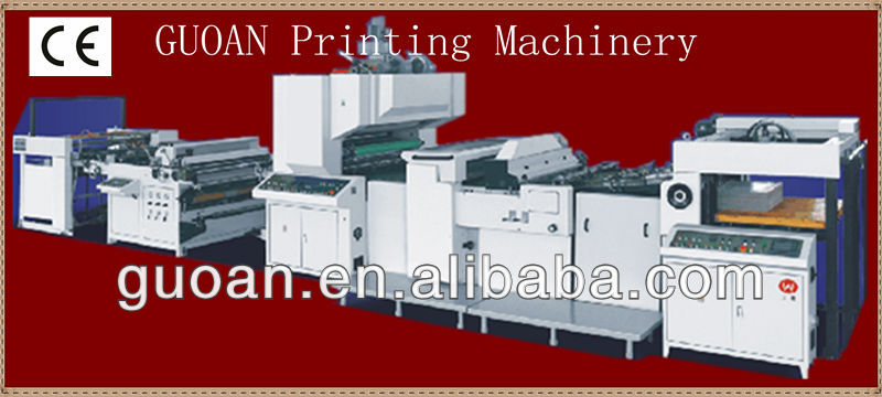 MOONBEAN-104B paper craft automatic film laminator machine for packing materials