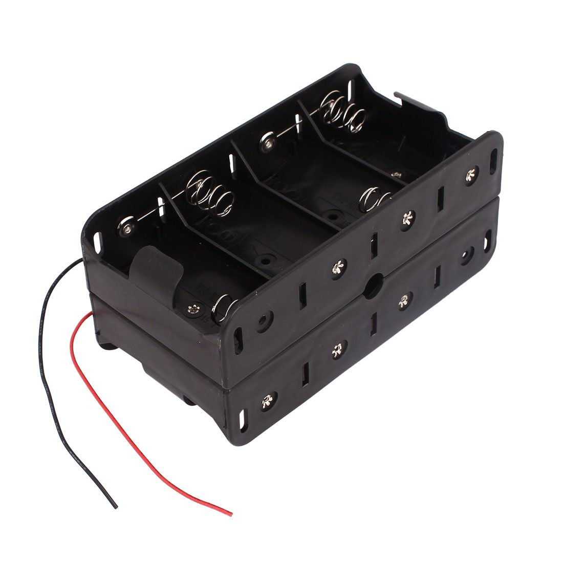 Cheap 6v Battery Box Dual Find Deals On Line At Wiring Batteries In Series Get Quotations 15v D Size Toogoor Wires Double Sides Storage Case