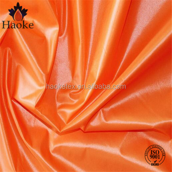 20D 380T 100% nylon waterproof downproof cire finish fabric