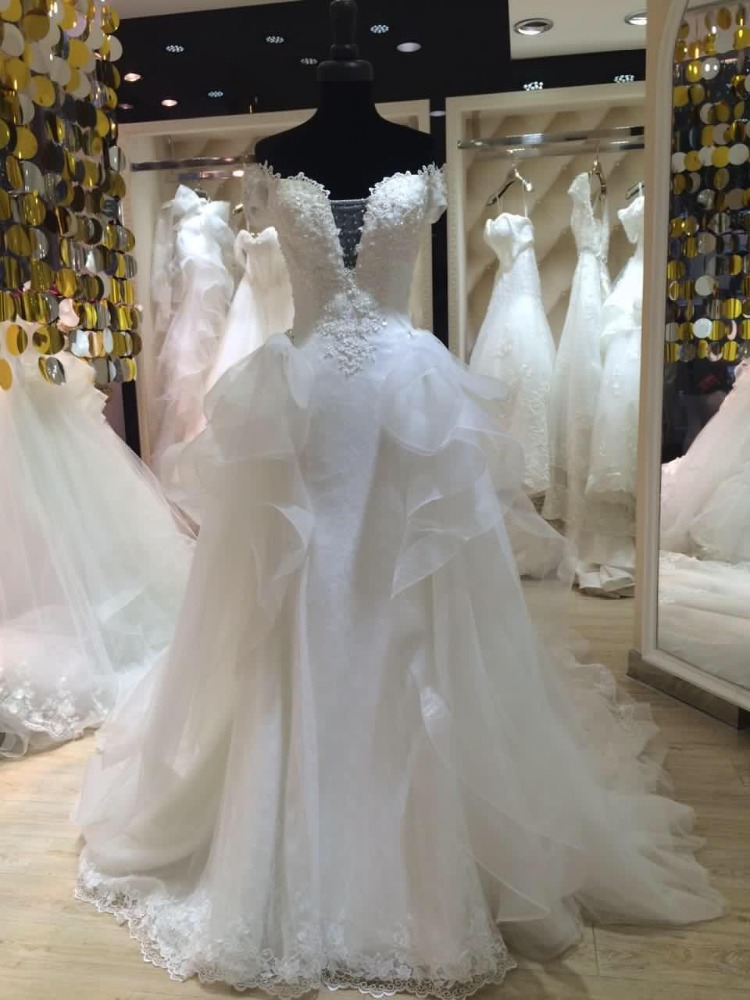 Aliexpress Cheap Wholesale Wedding Dresses 2016 New Style With