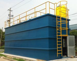 Customized Design Automatic PLC Control MBBR Sewage Treatment Systems Plant