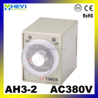 timer relay delay on ah3 time relay