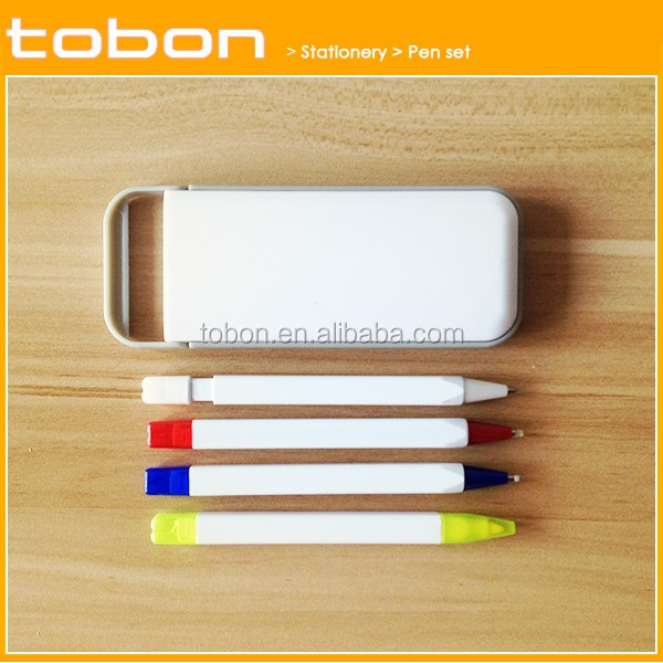 wholesale plastic ball pen set, highlighter pen sets, multifunction pen sets