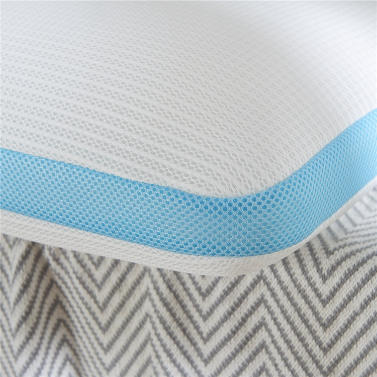 breathable and washable 3D AIR mesh pillow ,sleeping well pillow filling with 3D spacer mesh fabric