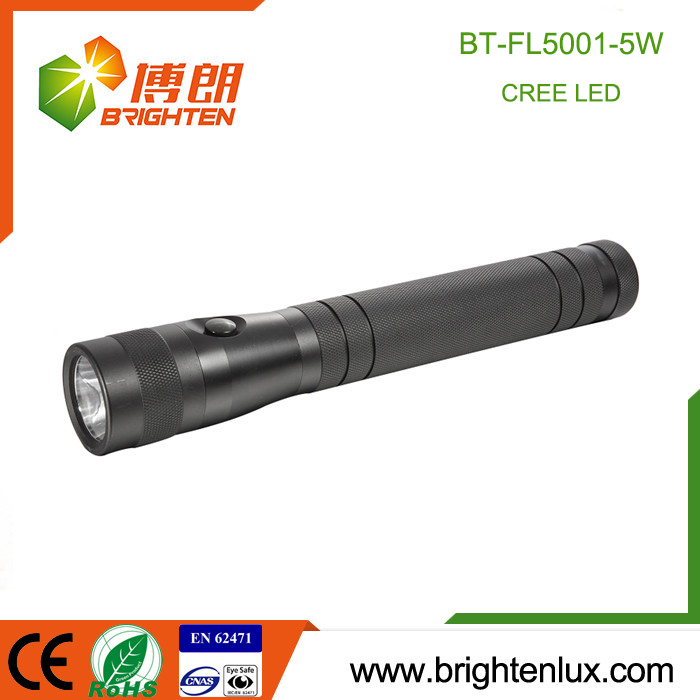 Factory Supply High Powered Aluminum 3D Battery 5 Modes Flashlight Multi-function Cree 5watt Best Home Outdoor Torch