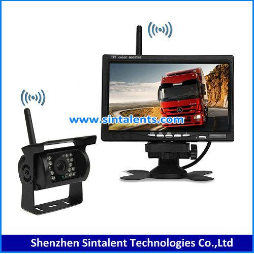 24V Truck Backup Parking Sensor Rearview Camera System