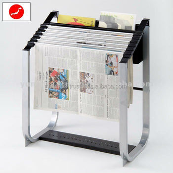 High-Quality Furniture Japanese Magazines Adult Simple Newspaper Holder Stand YSK