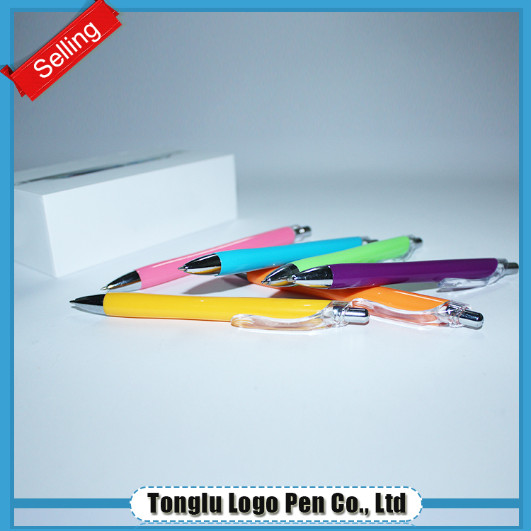 Classical office supply widely used cheap plastic ball pen