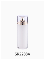 Luxury cosmetic packaging bottle plastic 15ml 30ml cream bottle