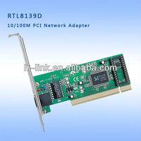 Realtek RTL8139 PCI 10/100Mbps Single RJ45 Network Card