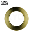 KYOK Antiqusmall Metal Curtain Pole Ring With Clips Acrylecurtain Rings Hooks Clipswood Curtain Ring