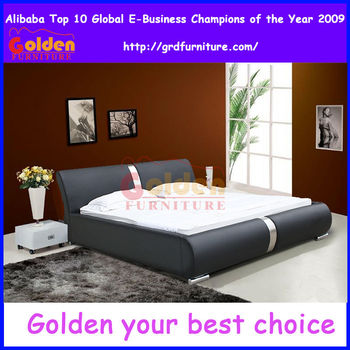 Modern Style Bed With Leather Bedroom Sets Furniture - Buy Adult ...